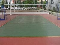 江西省德兴铜矿硅PU网球场