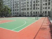 江西省赣西供电公司硅PU篮球场